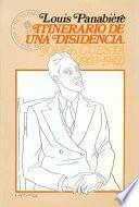 Libro de Itinerario De Una Disidencia, Jorge Cuesta (1903 1942)