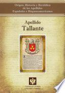Libro de Apellido Tallante
