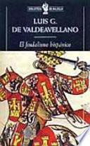Libro de El Feudalismo Hispánico Y Otros Estudios De Historia Medieval