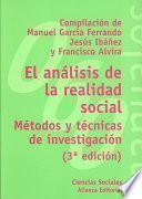 Libro de El Análisis De La Realidad Social