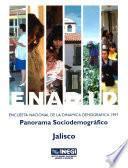Libro de Enadid.  Encuesta Nacional De La Dinámica Demográfica 1997. Panorama Sociodemográfico. Jalisco