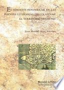 Libro de El Suroeste Peninsular En Las Fuentes Literarias Grecolatinas: El Territorio Onubense