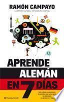 Libro de Aprende Alemán En 7 Días