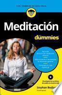 Libro de Meditación Para Dummies
