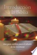 Libro de Introducción A La Biblia