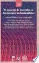 Libro de El Concepto De Heurística En Las Ciencias Y Las Humanidades