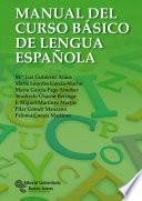 Libro de Manual Del Curso Básico De Lengua Española