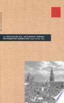 Libro de La Protección Del Patrimonio Urbano