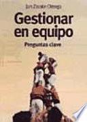 Libro de Gestionar En Equipo.