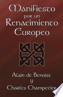 Libro de Manifiesto Por Un Renacimiento Europeo