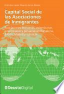 Libro de Capital Social De Las Asociaciones De Inmigrantes