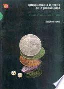 Libro de Introduccion A La Teoria De La Probabilidad Ii. Segundo Curso