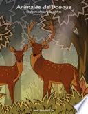 Libro de Animales Del Bosque Libro Para Colorear Para Adultos 1