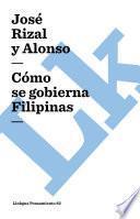 Libro de Cómo Se Gobierna Filipinas