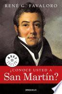 Libro de ¿conoce Usted A San Martín?