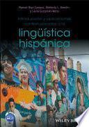 Libro de Introducción Y Aplicaciones Contextualizadas A La Lingüística Hispánica