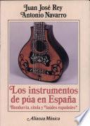 Libro de Los Instrumentos De Púa En España
