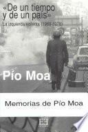 Libro de De Un Tiempo Y De Un País. La Izquierda Violenta (1968 1978)