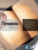 Libro de Hermenéutica Bíblica