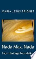 Libro de Nada Max, Nada
