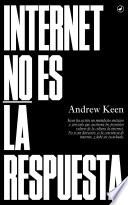 Libro de Internet No Es La Respuesta