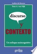 Libro de Discurso Y Contexto