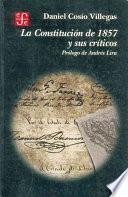 Libro de La Constitución De 1857 Y Sus Críticos