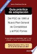 Libro de Guía Práctica De Adaptación Al Nuevo Pgc