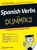 Libro de Spanish Verbs For Dummies