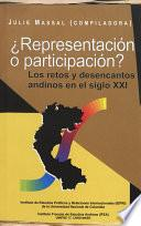 Libro de ¿representación O Participación?