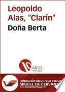 Libro de Doña Berta