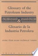 Libro de Glosario De La Industria Petrolera