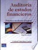 Libro de Auditoria De Estados Financieros