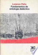 Libro de Fundamentos De Ontología Dialéctica