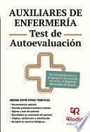 Libro de Auxiliares De Enfermería. Test De Autoevaluación. Servicio Aragonés De Salud