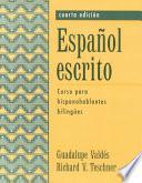 Libro de Espanõl Escrito