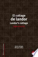Libro de El Cottage De Landor/landor S Cottage