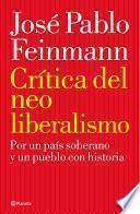 Libro de Crítica Del Neoliberalismo
