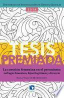 Libro de La Cuestión Femenina En El Peronismo