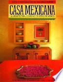 Libro de Casa Mexicana