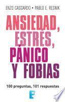 Libro de Ansiedad, Estrés, Pánico Y Fobias (lat)