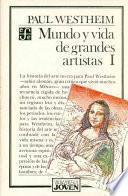 Libro de Mundo Y Vida De Grandes Artistas