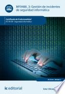 Libro de Gestión De Incidentes De Seguridad Informática. Ifct0109