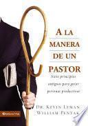 Libro de A La Manera De Un Pastor