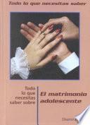 Libro de Teen Marriage, Ntk Spanish