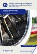 Libro de Mantenimiento Auxiliar De Sistemas Mecánicos Y Fluidos De Aeronaves. Tmvo0109