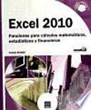 Libro de Excel 2010