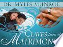 Libro de Claves Para El Matrimonio