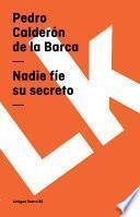 Libro de Nadie Fíe Su Secreto