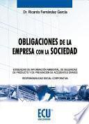 Libro de Obligaciones De La Empresa Con La Sociedad